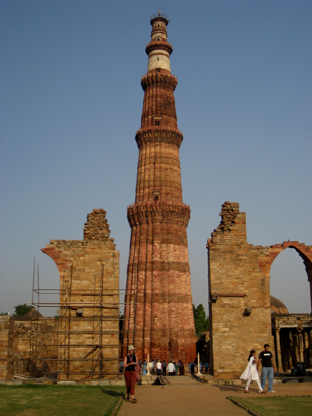 essay of qutub minar A photo essay of en – the japanese restaurant gastronomic  and this is the  terrace area with the qutub minar in the backdrop as it was quite.